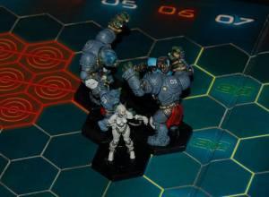 Dreadball Cyberstorm Centurions vs. Ice Crushers 1